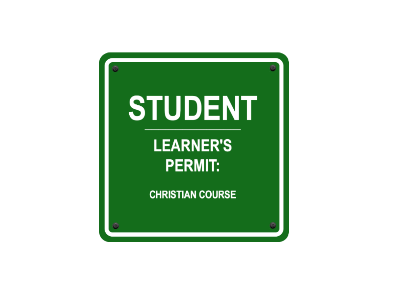 1031 – STUDENT LEARNER'S PERMIT: CHRISTIAN COURSE